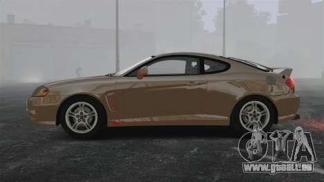 Hyundai Tiburon für GTA 4 linke Ansicht