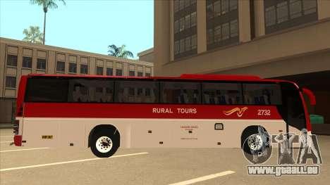 Rural Tours 2732 für GTA San Andreas zurück linke Ansicht