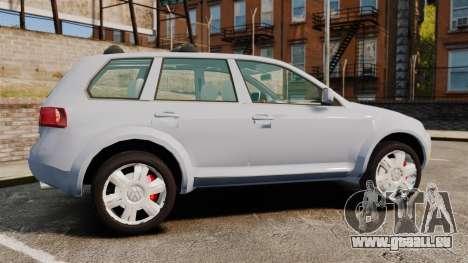 Volkswagen Touareg 2002 für GTA 4 linke Ansicht