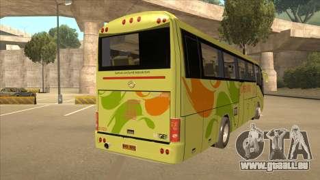 Higer KLQ6129QE - Super Five Transport S 023 pour GTA San Andreas vue de droite