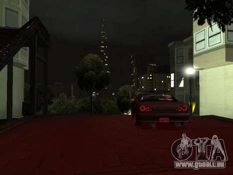 Elegy Skyline für GTA San Andreas rechten Ansicht