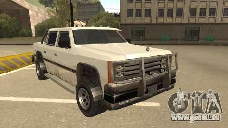 Declasse Rancher FXT pour GTA San Andreas laissé vue