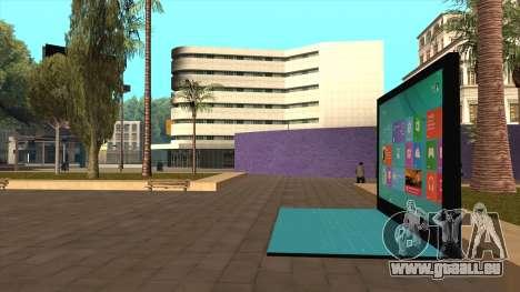 Riesige Oberfläche 2 aus London für GTA San Andreas zweiten Screenshot