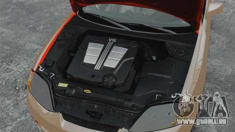 Hyundai Tiburon für GTA 4 Innenansicht