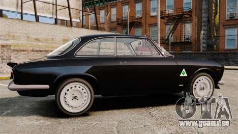 Alfa Romeo Giulia 1965 Sprint GTA Stradale für GTA 4 linke Ansicht