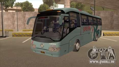 Higer KLQ6129QE - Super Fice Transport S 020 für GTA San Andreas