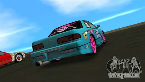 Nissan Silvia S13 Drift Works für GTA Vice City linke Ansicht