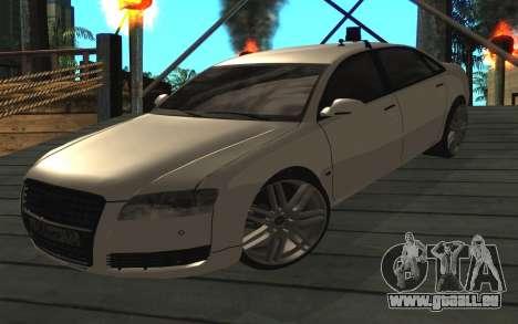Audi A8L D3 pour GTA San Andreas
