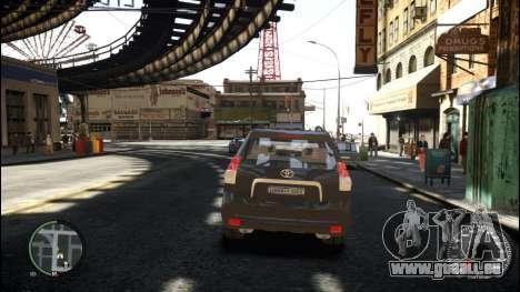 Toyota Land Cruiser Prado 150 für GTA 4 rechte Ansicht