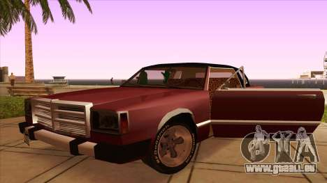 Feltzer C107 coupe pour GTA San Andreas vue intérieure