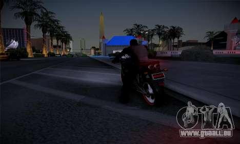 Ducati FCR900 2013 pour GTA San Andreas sur la vue arrière gauche