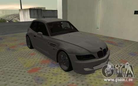 BMW Z3 M Power 2002 pour GTA San Andreas laissé vue