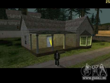 Téléphone interactif pour GTA San Andreas troisième écran