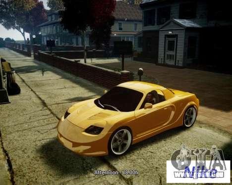 Toyota MR-S pour GTA 4