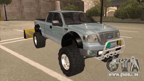 Ford F-150 EXT Off Road 2007 für GTA San Andreas linke Ansicht