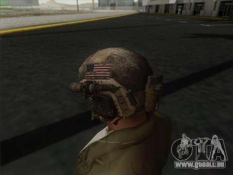 Casque de Call of Duty MW3 pour GTA San Andreas troisième écran