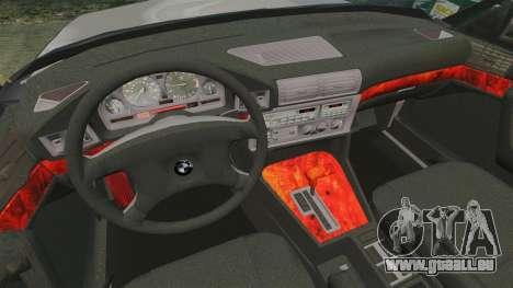BMW 535 E34 Touring pour GTA 4 est un côté