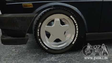 Fiat 131 pour GTA 4 Vue arrière
