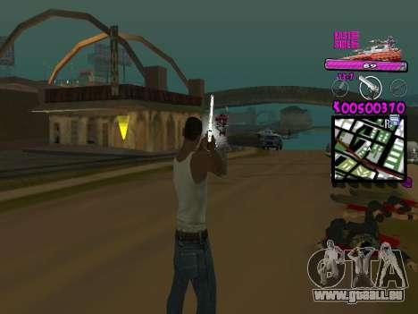 C-HUD by Kerro Diaz [ Ballas ] pour GTA San Andreas deuxième écran