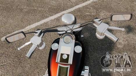 Harley-Davidson für GTA 4 rechte Ansicht