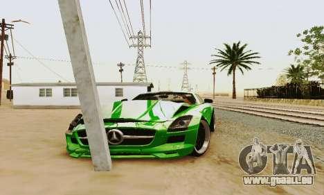 Mercedes SLS AMG 2010 Hamann v2.0 pour GTA San Andreas vue de côté