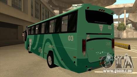 Holiday Bus 03 für GTA San Andreas Rückansicht