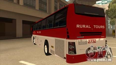 Rural Tours 2732 für GTA San Andreas Rückansicht