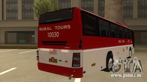 Rural Tours 10030 pour GTA San Andreas vue de droite