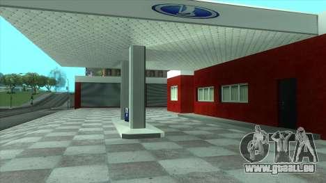Nouveau garage de Doherty pour GTA San Andreas deuxième écran