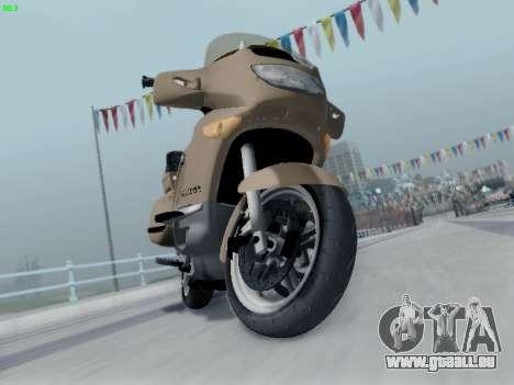 BMW K1200LT pour GTA San Andreas laissé vue