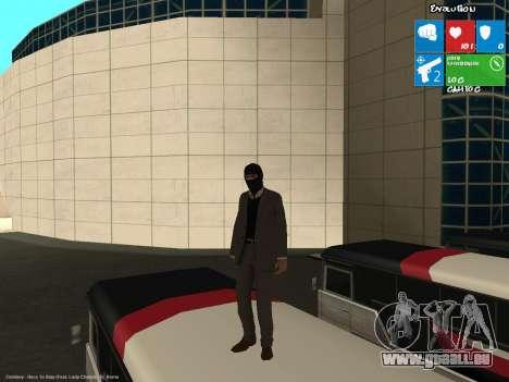 Der Bankräuber für GTA San Andreas