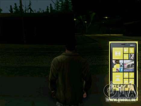 Téléphone interactif pour GTA San Andreas