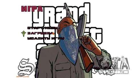 Neues Menü für GTA San Andreas zweiten Screenshot