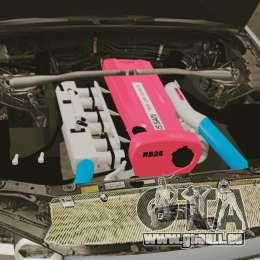 Nissan Skyline R34 für GTA 4 Innenansicht