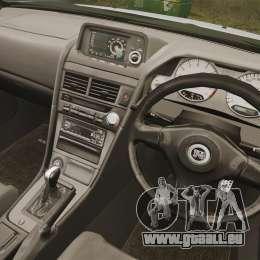 Nissan Skyline R34 für GTA 4 Seitenansicht