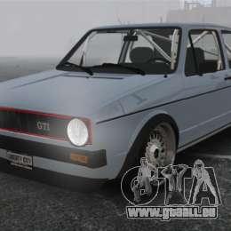 Volkswagen Golf MK1 GTI Update v1 pour GTA 4