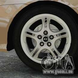 Hyundai Tiburon pour GTA 4 Vue arrière
