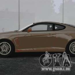 Hyundai Tiburon pour GTA 4 est une gauche
