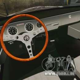 Alfa Romeo Giulia 1965 Sprint GTA Stradale pour GTA 4 est une vue de l'intérieur