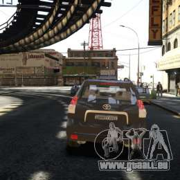Toyota Land Cruiser Prado 150 pour GTA 4 est un droit
