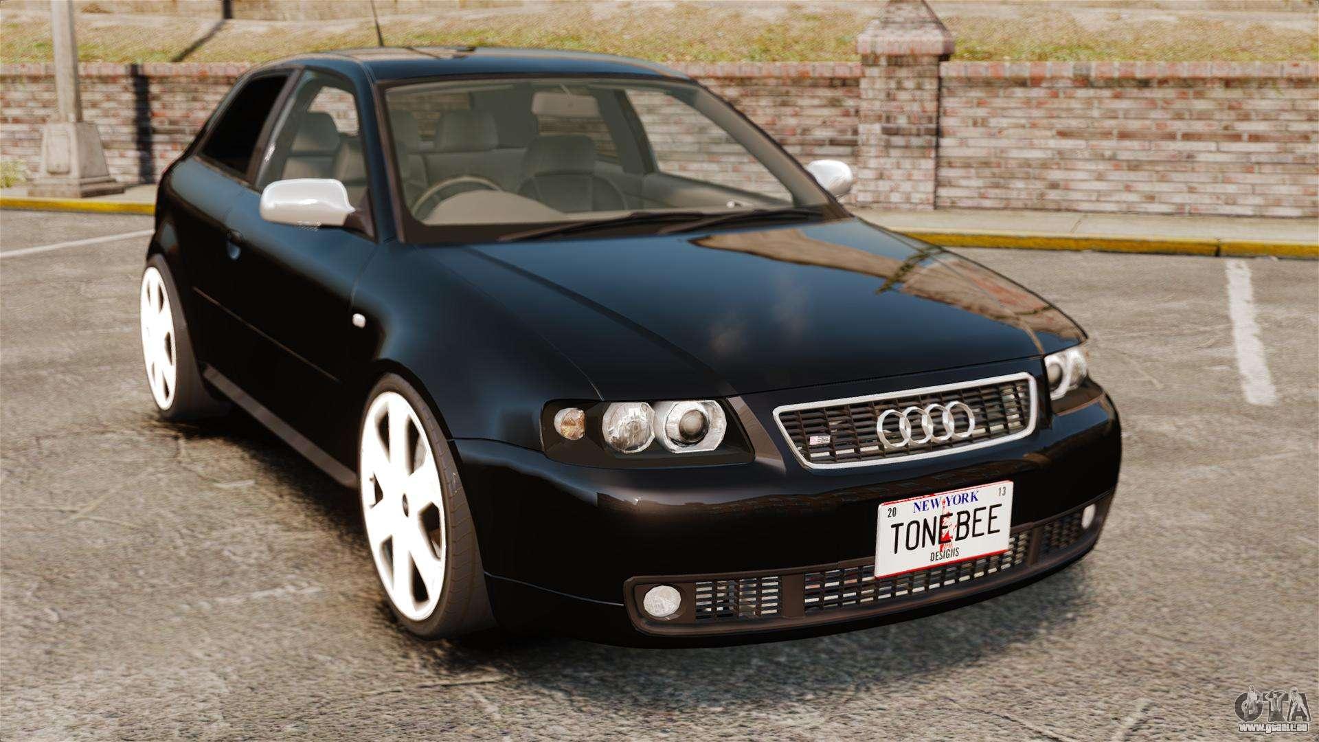Audi S3 2001 Pour Gta 4