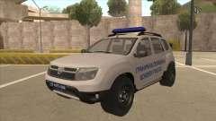 Dacia Duster Granična Policija wurde