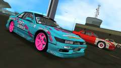 Nissan Silvia S13 Drift Works für GTA Vice City