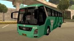 Holiday Bus 03 für GTA San Andreas