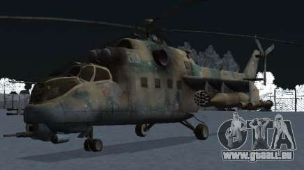 Le MI-24p pour GTA San Andreas