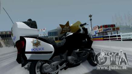 BMW K1200LT Police pour GTA San Andreas