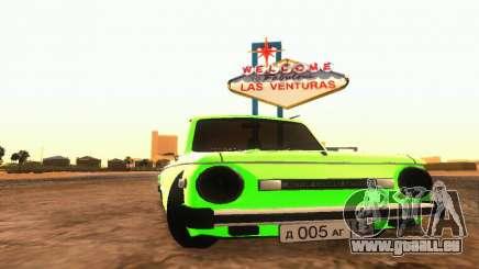 ZAZ 968 Cabriolet Tuning pour GTA San Andreas