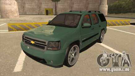 Chevrolet Tahoe Sound Car The Adiccion für GTA San Andreas