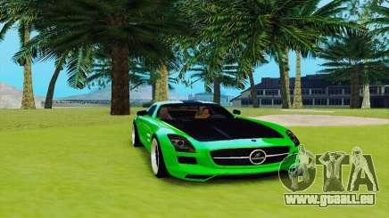 Mercedes SLS AMG 2010 Hamann v2.0 pour GTA San Andreas
