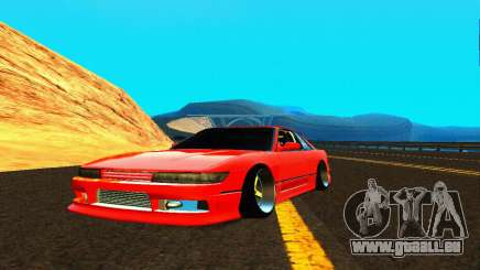 Nissan Silvia S13 HellaDrift pour GTA San Andreas